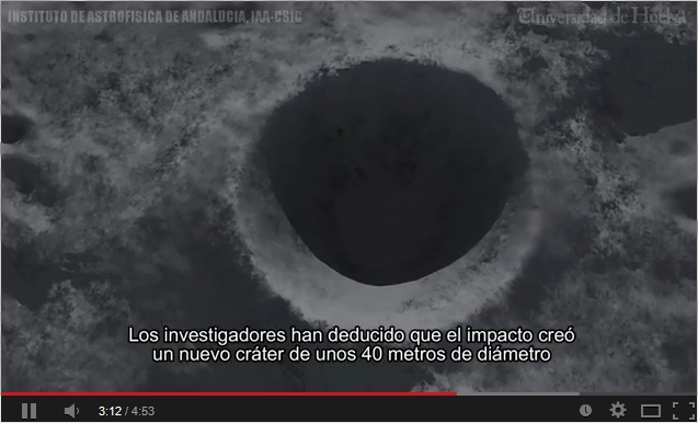 Vídeo producido con motivo de la publicación (en Feb. de 2014) en Monthly Notices of the Royal Astronomical Society (MNRAS) del artículo titulado